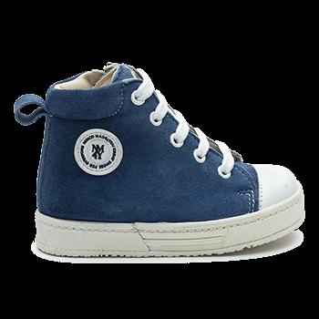 Charlie - L1601/P497 Suede Blue Combi