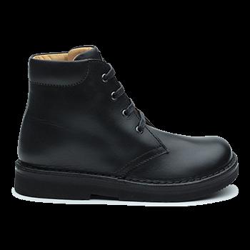 Dakota - R552 Waxed Leather Black