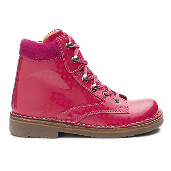 Cool - S1505/P496 Patent Fuchsia With Dots