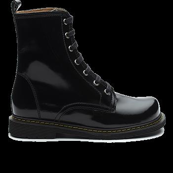 Robin - F1602 Polish Leather Black