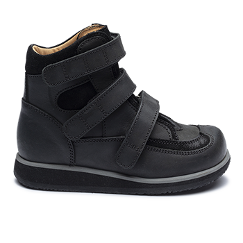 Spike - R552/P452 Waxed Leather Black Combi