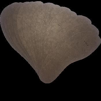 NIMCO HERREN- BRANDSOHLENSCHABLONE N39K